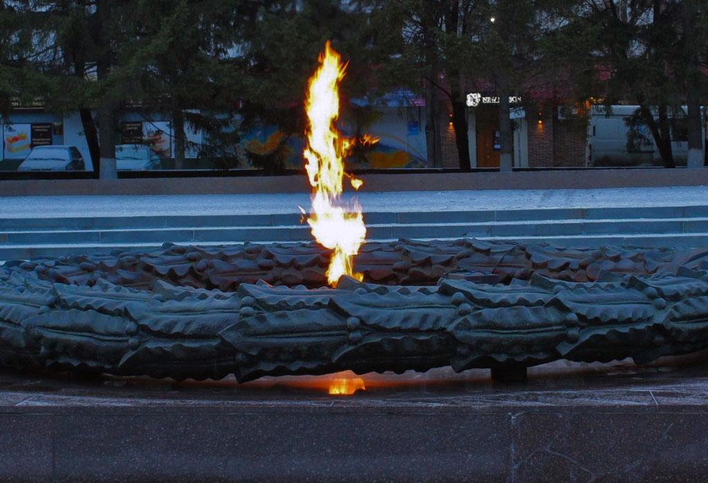 В понедельник, 19 ноября, в связи с профилактическими работами на мемориале «Вечный огонь» ранним