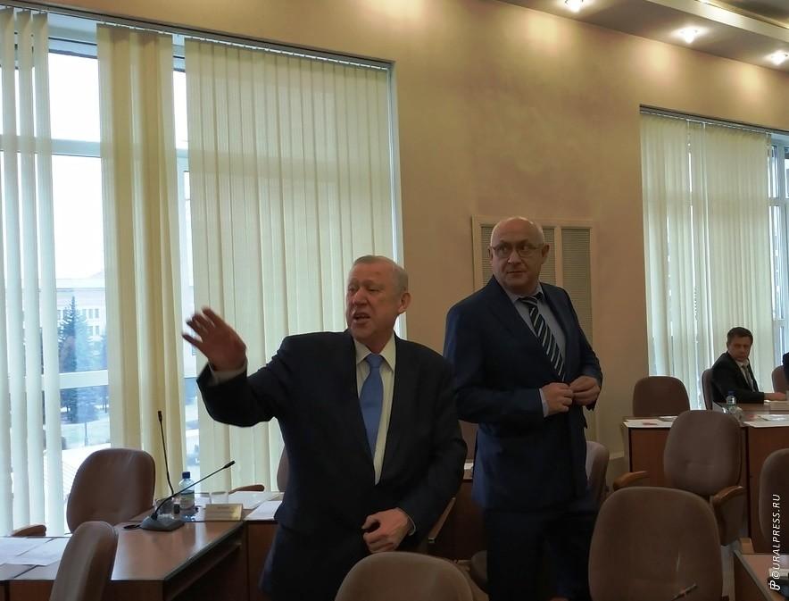 Глава Челябинского городского округа Евгений Тефтелев с тяжестью на душе оставляет занимаемый пос