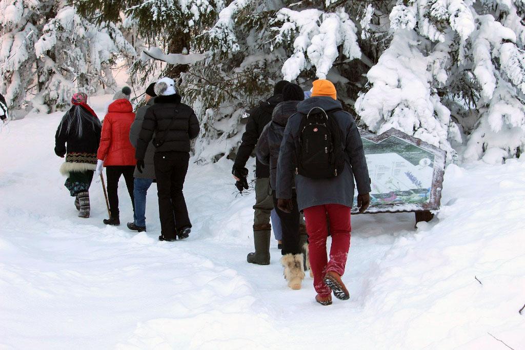 В четверг, шестого декабря, челябинским журналистам дирекция Национального парка «Таганай» и гост