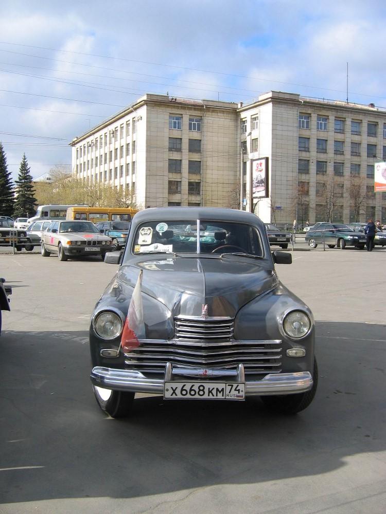 Как сообщил агентству «Урал-пресс-информ» председатель клуба авто-мотостарины «Мотор-КлассикЪ» Вс