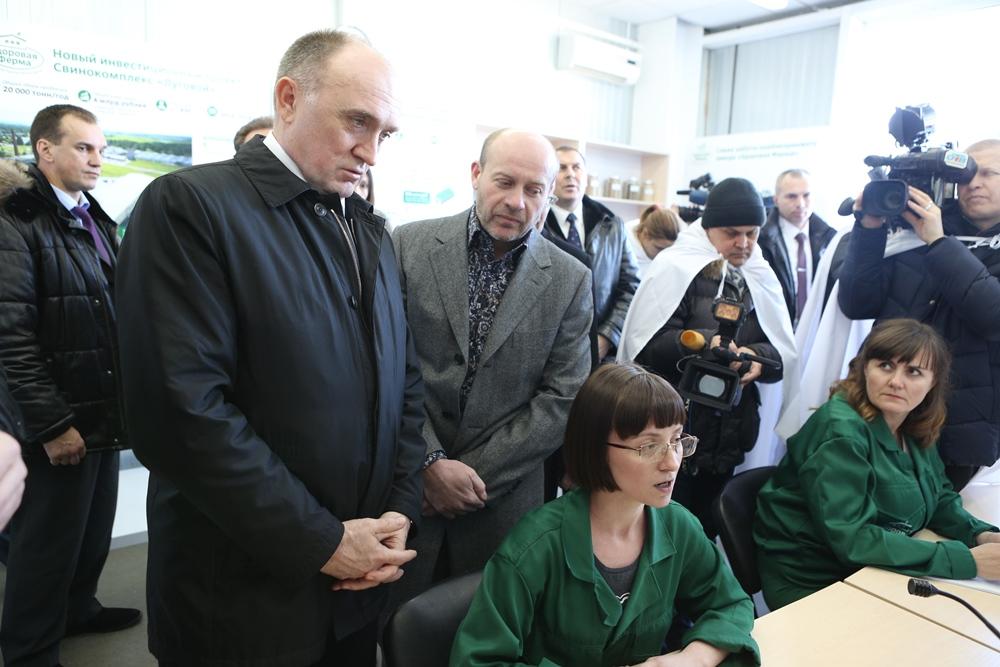 Комбикормовый завод был официально запущен в 2011 году, а в декабре 2014 года произошла его масшт
