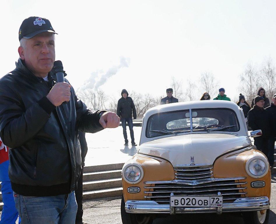 В автопробеге «Победа одна на всех» участвуют журналисты, блогеры, фотографы, активисты обществен