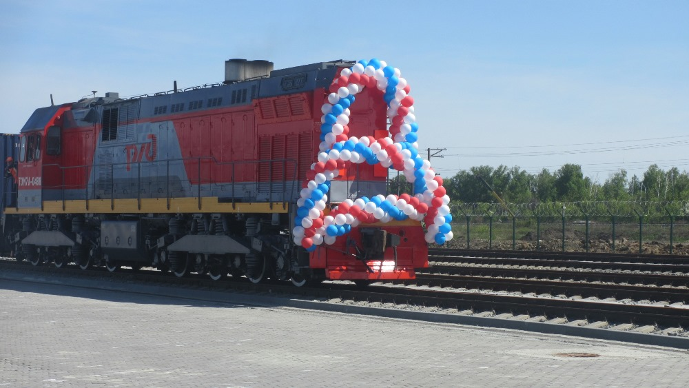 Как сообщил встречавший поезд первый заместитель губернатора Челябинской области Евгений Редин, к