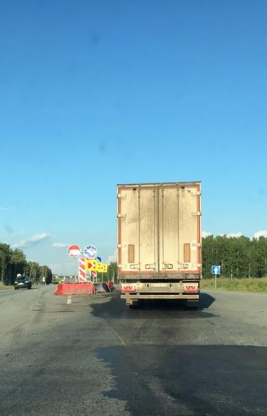 Федеральную автодорогу «Урал» помогут обезопасить светоотражающие устройства нового поколения. Но