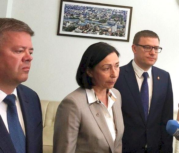 Исполняющая обязанности главы Челябинского городского округа Наталья Котова, назначенная на эту д