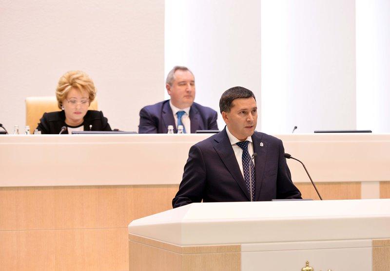 На заседании обсуждались вопросы законодательного обеспечения устойчивого развития Арктической з