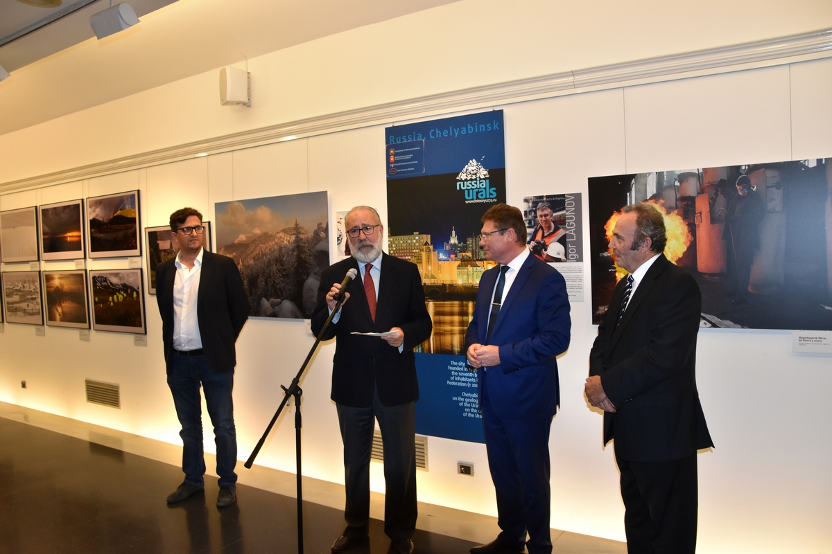 Из Испании вернулся директор исторического музея Южного Урала, председатель регионального