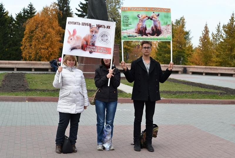 Как сообщила агентству «Урал-пресс-информ» организатор акции, руководитель Центра защиты прав жи