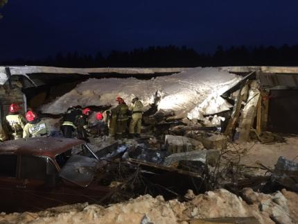 Один человек пострадал в результате хлопка газовоздушной смеси в гаражно-строительном кооперативе