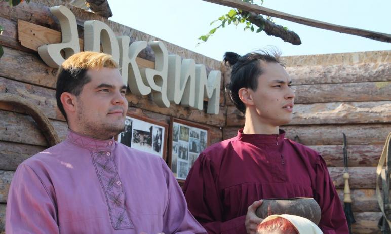В августе на территории государственного историко-культурного заповедника «Аркаим» (Челябинская о