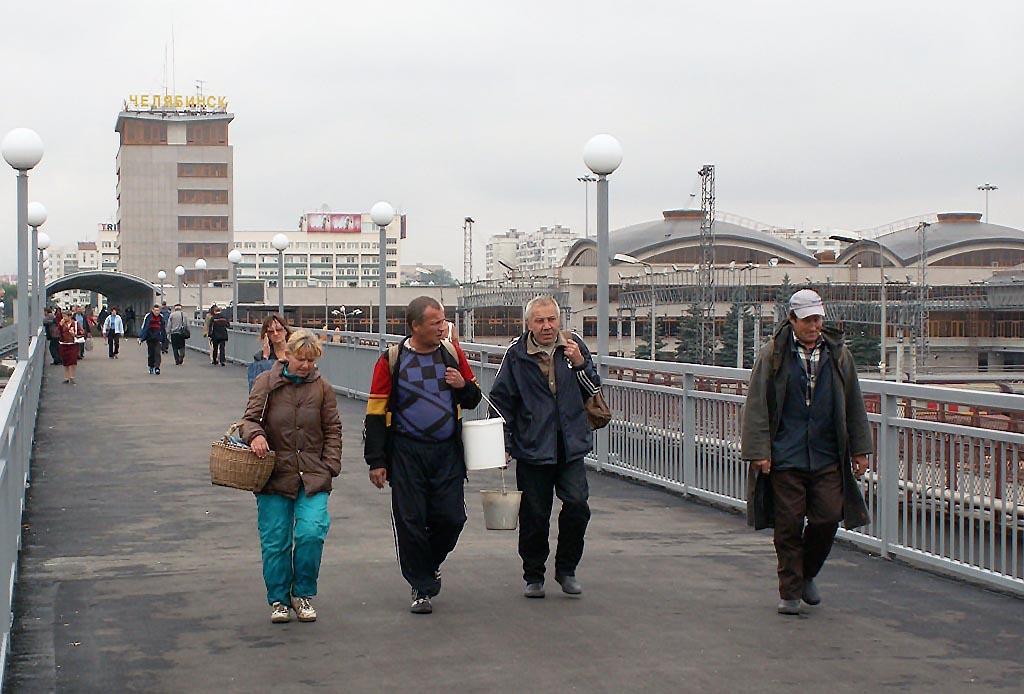 Пешеходные переходы появятся на перегоне Челябинск-Главный – Электростанция возле остановочного п