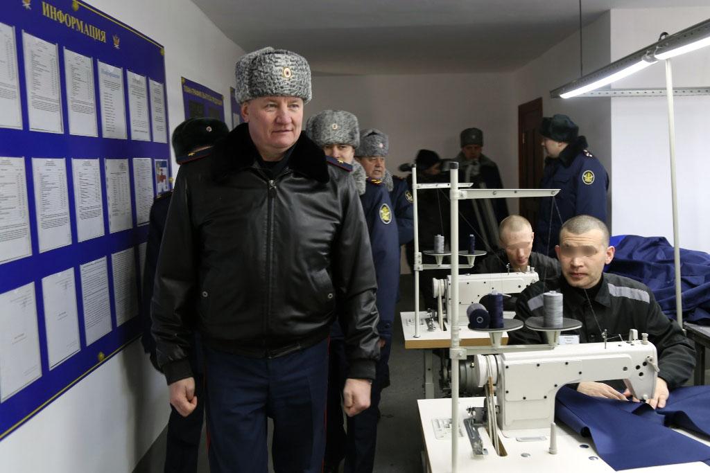 В исправительной колонии №11 Копейска (Челябинской области) вырастет число шьющих осужденных мужч