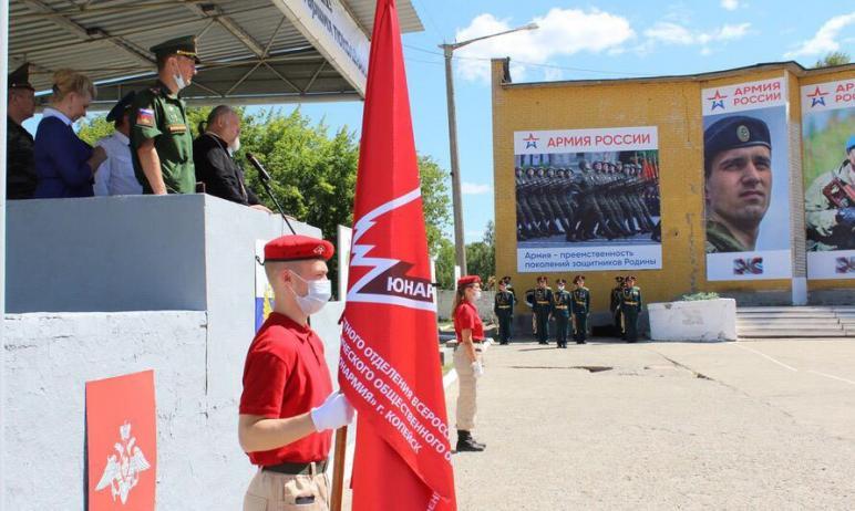 Челябинская область сегодня, шестого июля, отправила третий за весенний призыв воинский эшелон.
