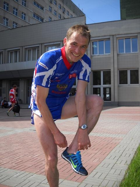 Спринтерские дистанции были проложены в районе медицинской академии и парке Гагарина. Специально