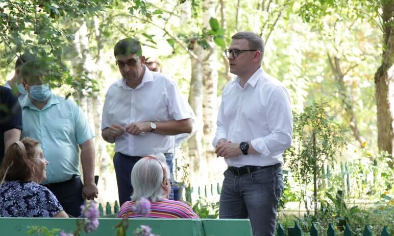 Губернатор Челябинской области Алексей Текслер в ходе рабочего визита в Златоуст совершил свой фи
