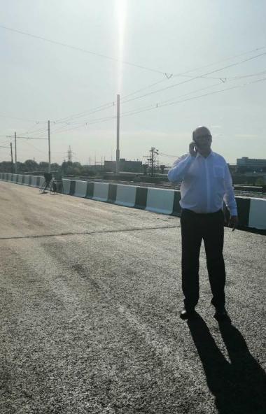 В Челябинске запущено движение легкового и общественного транспорта по мосту «Коксохим» в Металлу