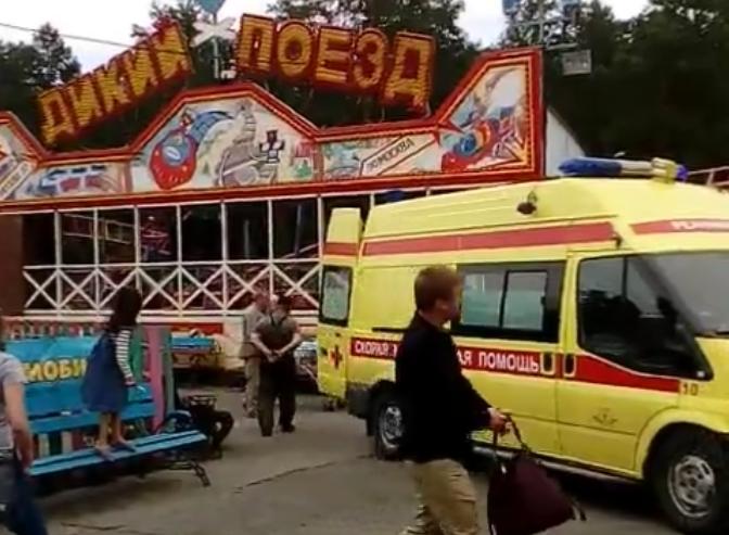В парке Гагарина Челябинска «Дикий поезд» смертельно покалечил рабочего. По предварительной инфор