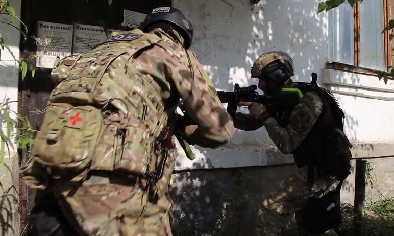 Силовики Челябинской области отразили атаку условных террористов на военный объект Вооруженных Си