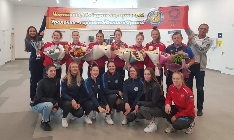 Из Хорватии в ранге победителей первенства Европы по водному поло вернулись ватерполистки команды