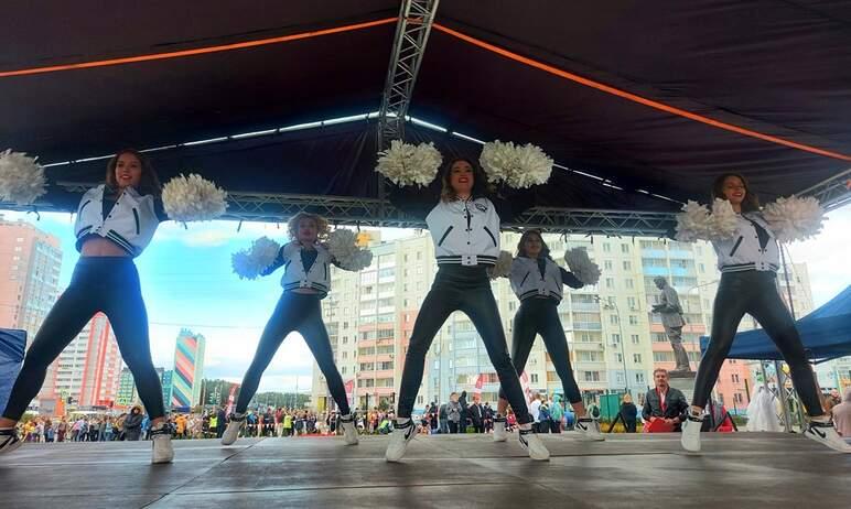 В минувшую пятницу, 10 сентября, в Курчатовском районе Челябинска состоялся спортивный праздник.