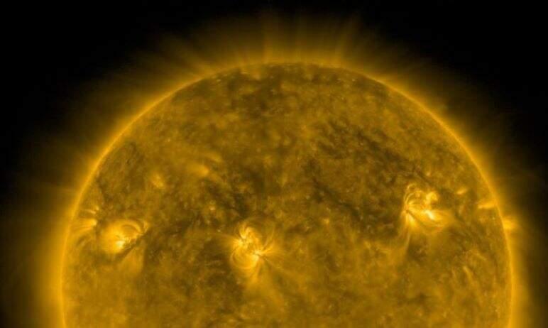 В четверг, 23 сентября, зарегистрирована крупная вспышка на Солнце, которая по своей силе стала ч