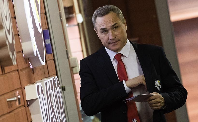 Главный тренер челябинского «Трактора» Герман Титов объявил о своей отставке. Исполняющим обязанн
