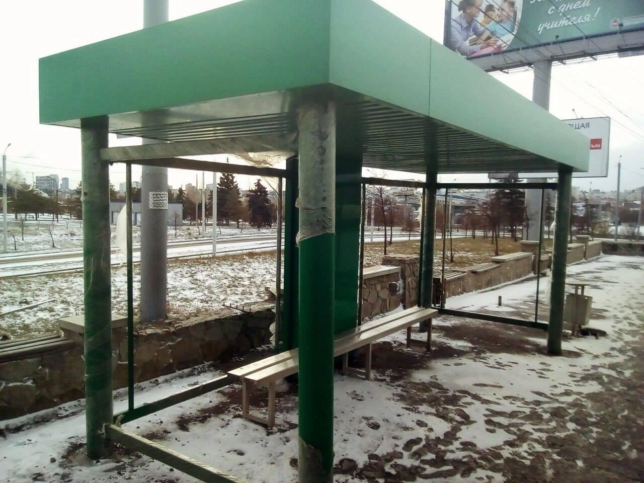 Остановочные комплексы, установленные на гостевых маршрутах в Челябинске, уберут. На них власти Ч