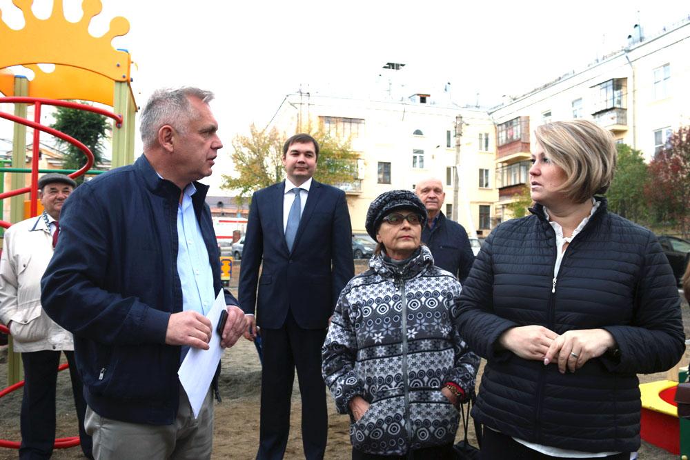 В этом году в Магнитогорске завершается благоустройство внутриквартальных территорий по программе