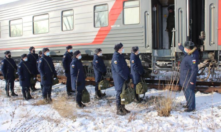 В ходе осеннего призыва на военную службу из Челябинской области в воинские части Западного военн
