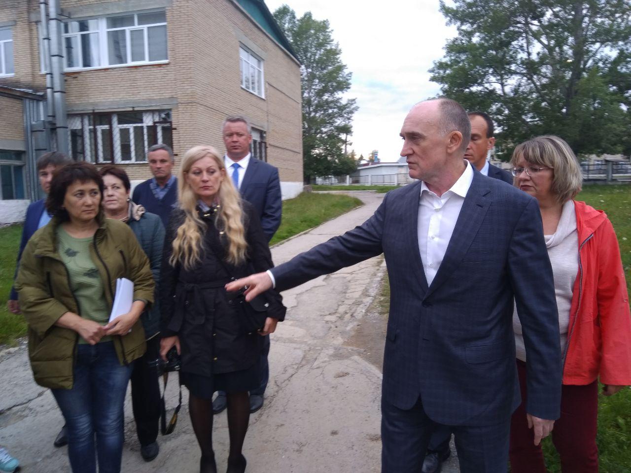Губернатор Челябинской области Борис Дубровский посетил Катав-Ивановск, чтобы лично оценить после