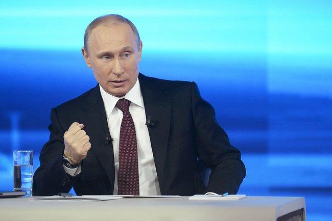 Когда началась война, отец Владимира Путина работал на военном предприятии, где была так называем