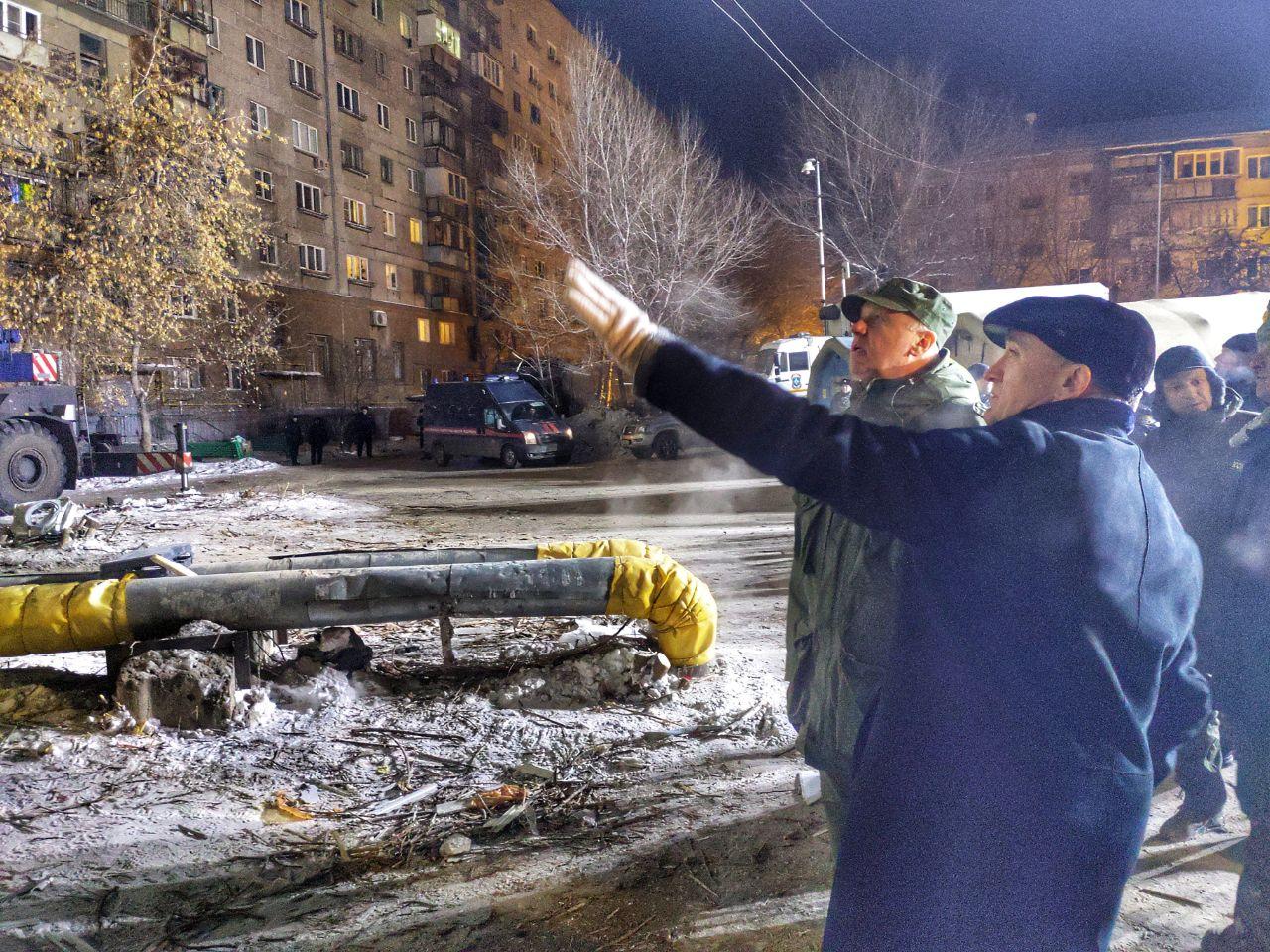 Председатель Следственного комитета России Александр Бастрыкин, прибывший в Магнитогорск (Челябин