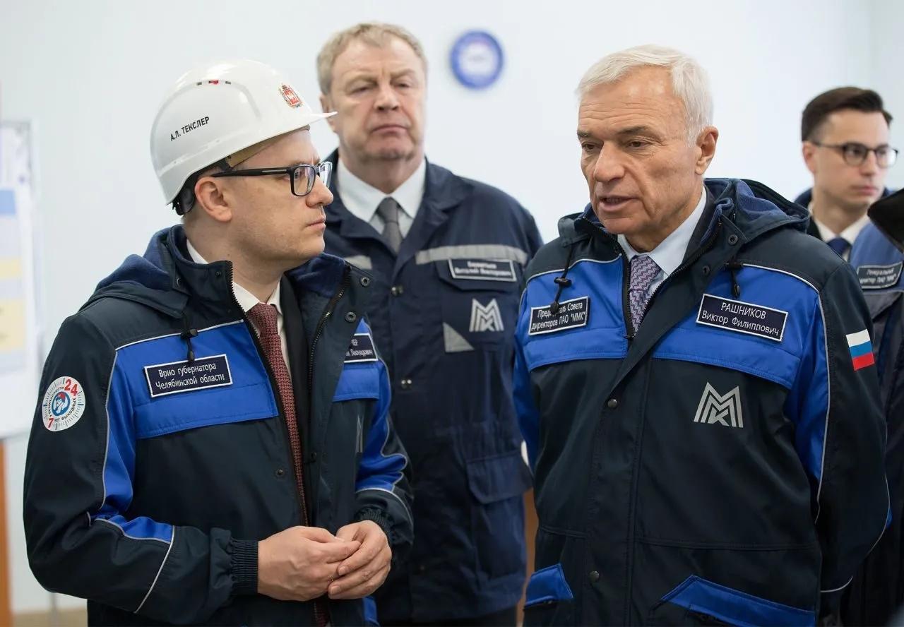 Врио губернатора Челябинской области Алексей Текслер посетил сегодня, 23 апреля,