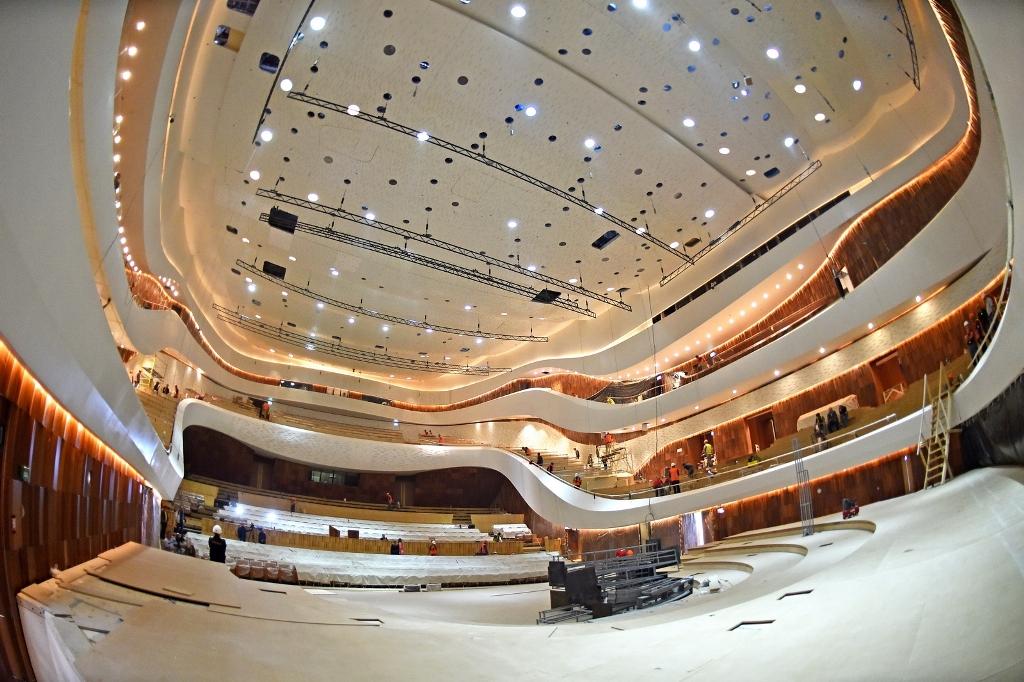 Многофункциональный зал, подобный акустическому залу в парке «Зарядье» (Москва), может появиться