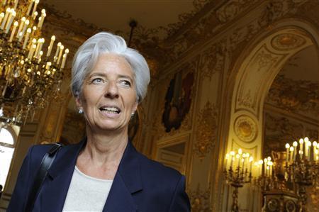 Франция старалась не говорить о кандидатуре Лагард во время саммита
