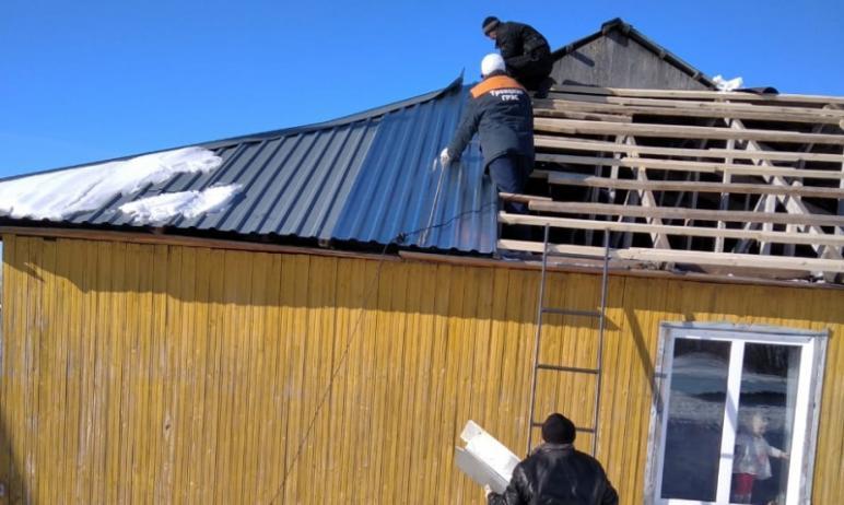 После вмешательства ОНФ чиновники Троицкого района нашли средства на ремонт кровли дома семьи, во