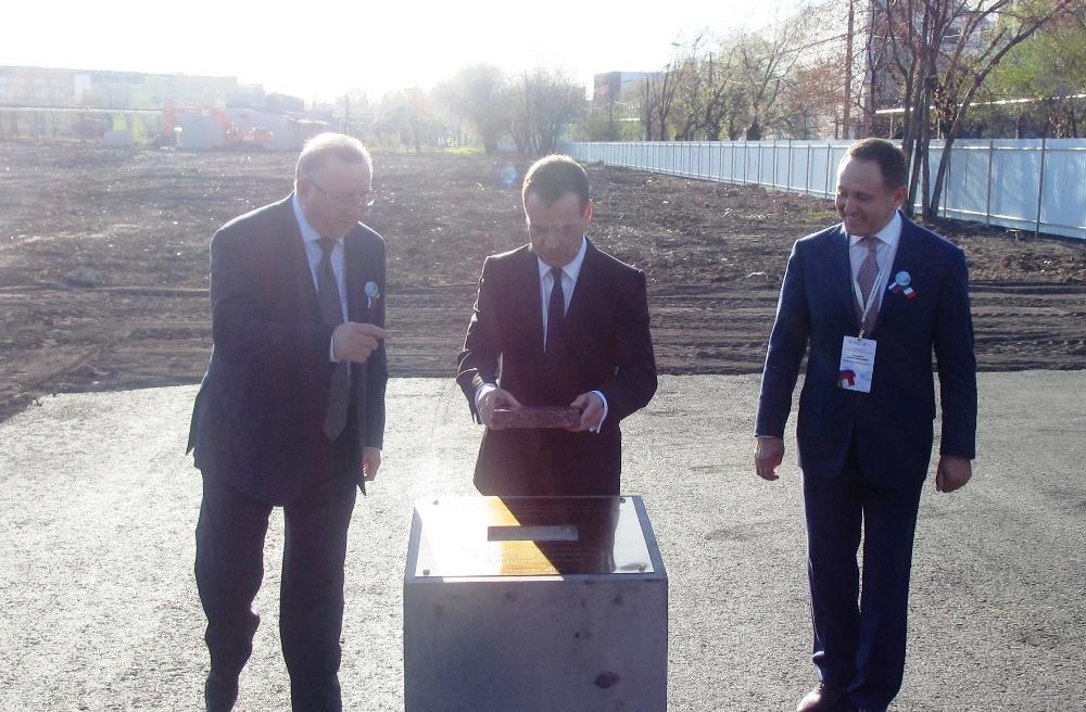 Президент Российской Федерации Владимир Путин примет участие в торжественном открытии машинострои
