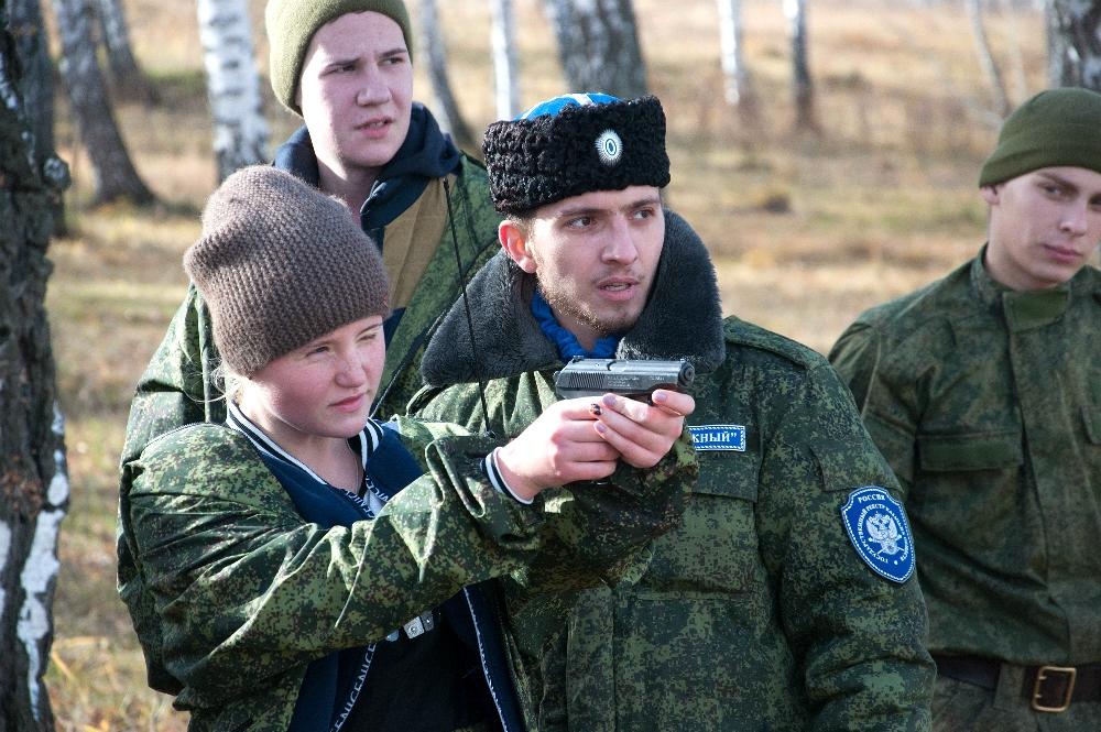 Юные челябинские кадеты из областного молодежного казачьего центра «Южный» поучаствовали в военно