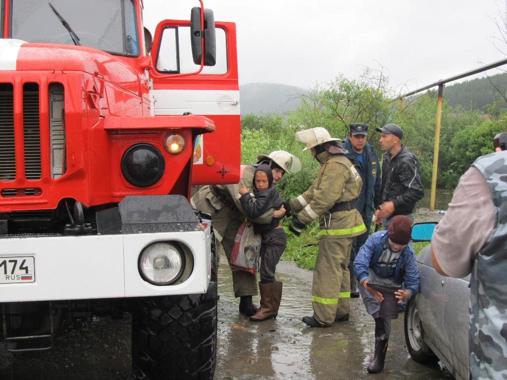 В понедельник, 21 июля, в результате выпадения большого количества осадков в виде дождя произошло