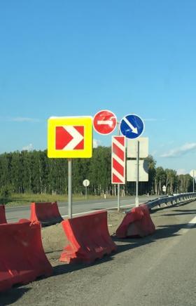 В Челябинской области на автомобильной дороге М-5 «Урал» проводятся противокамнепадные мероприяти