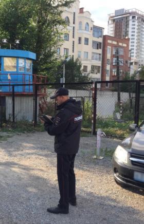 Челябинские полицейские проводят профилактическое мероприятие «Двор», которое направлено на выявл