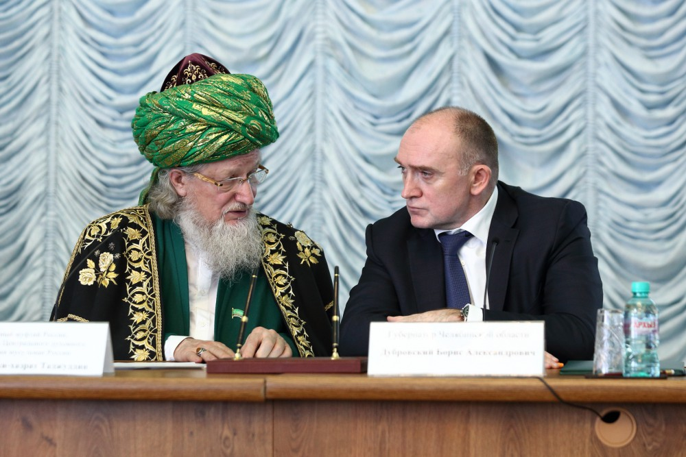 Напомним, губернатор Челябинской области Борис Дубровский и Верховный Муфтий России Талгат-хазрат