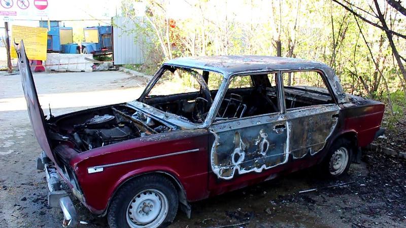 Инцидент произошел днем 11 мая. «В полицию поступило сообщение о возгорании автома