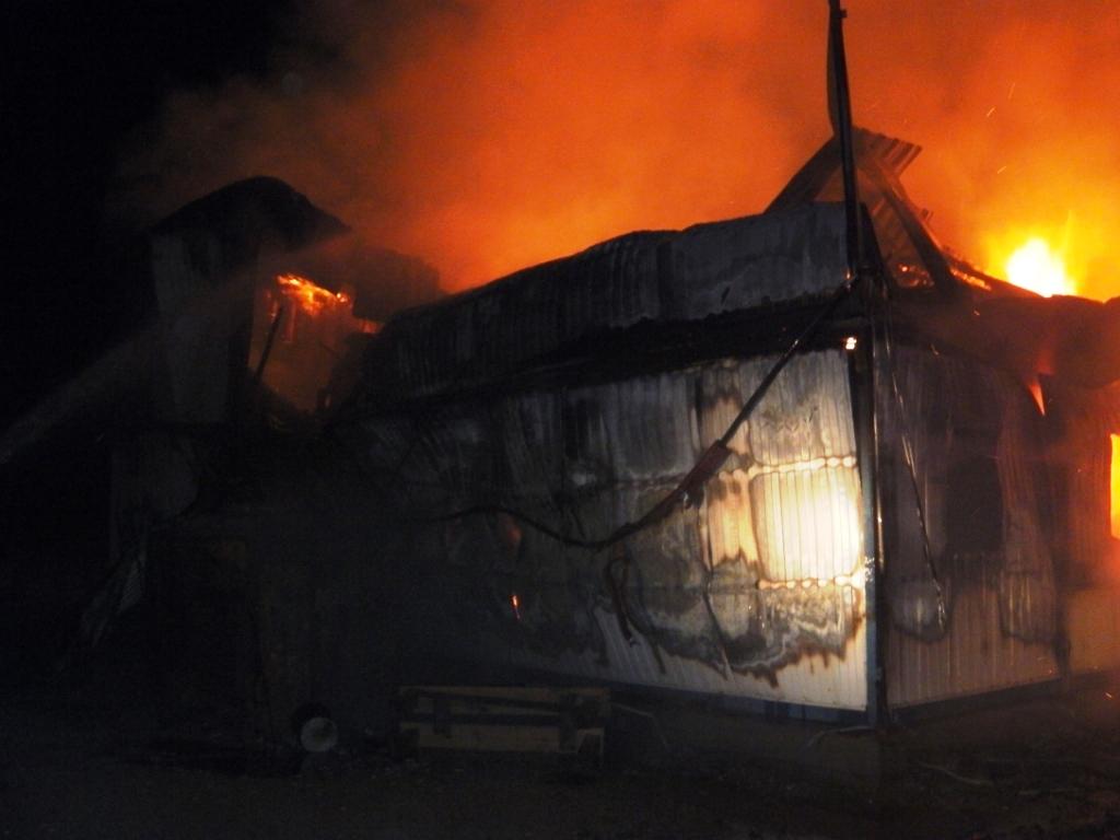 «Сотрудниками МЧС при ликвидации возгорания обнаружено тело рабочего. В лечебные учреждения о