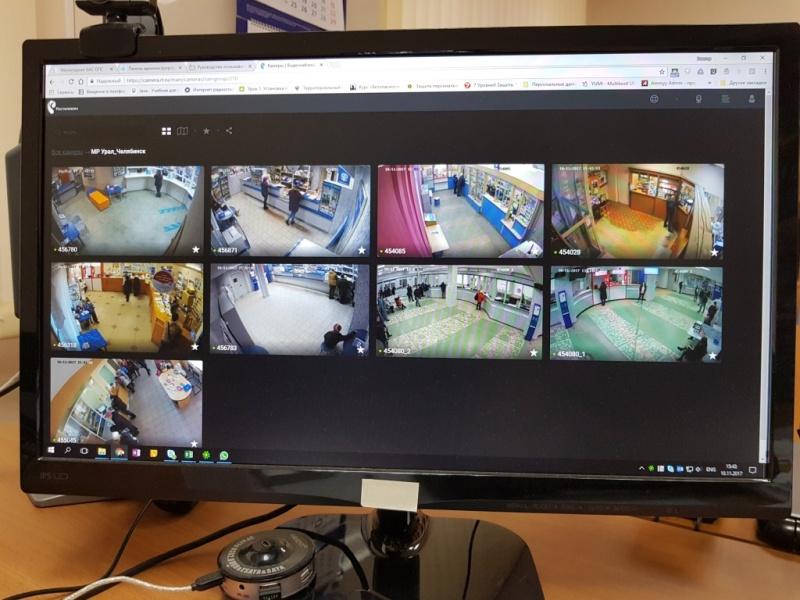 Система видеонаблюдения позволяет отслеживать уровень потока клиентов и помогает оперативно корре