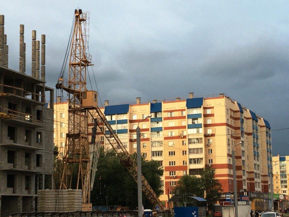 В ходе выполнения плановых строительно-монтажных работ на 16-этажном монолитно-каркасном доме