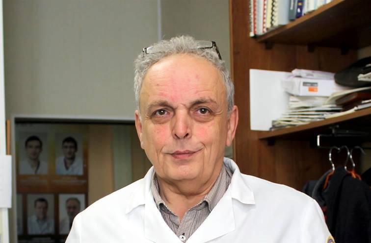 Заведующий отделением травматологии и ортопедии ЧОКБ клинической больницы Леонид Полляк стал фигу