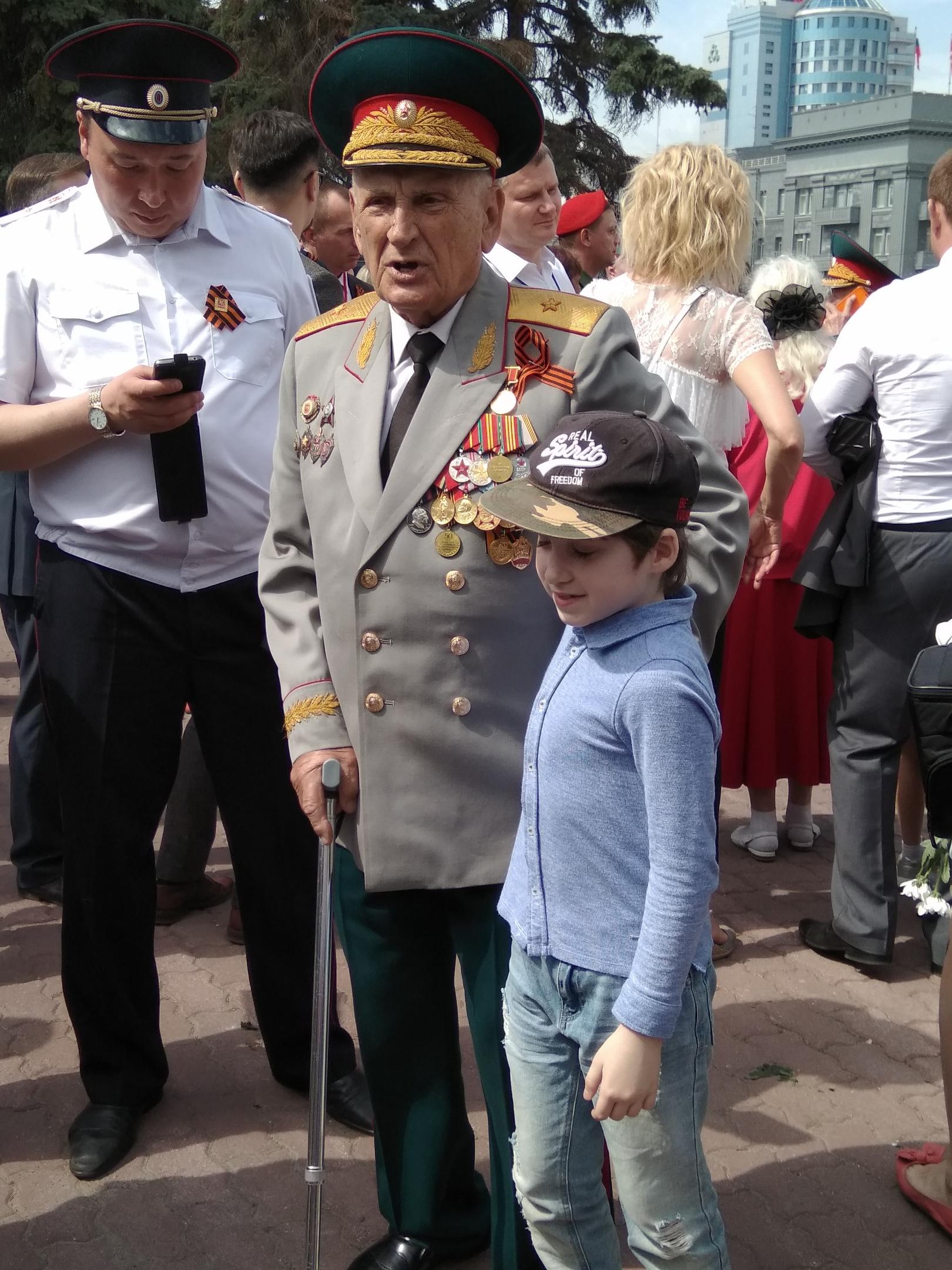В день 66-летия со дня Победы в Великой Отечественной войне, девятого мая,