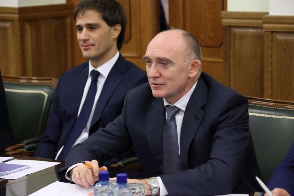 Первый заместитель министра экономического развития Челябинской области Антон Бахаев, обвиняемый