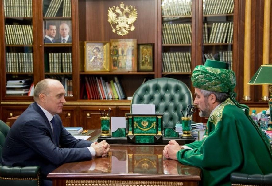 В этом заверил губернатора Челябинской области Бориса Дубровского муфтий, председатель Региональн